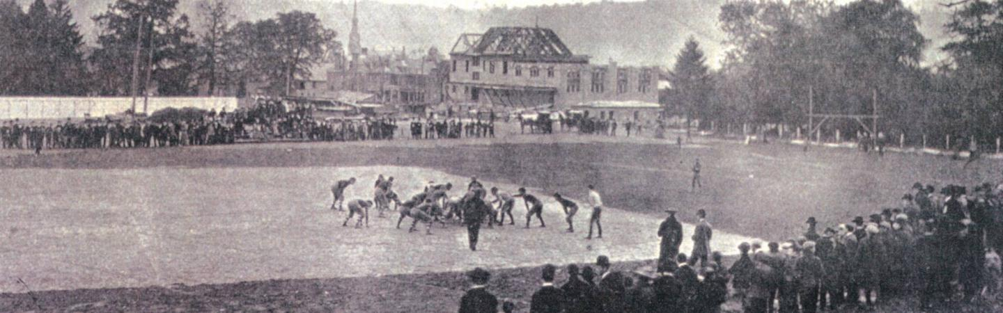 Picture of the Y being built in 1904
